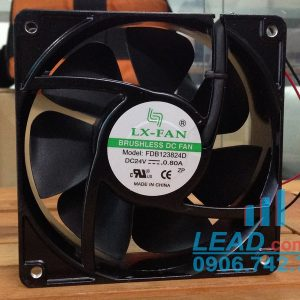 Quạt LX FAN FDB123824D, 24VDC, 120x120x38mm
