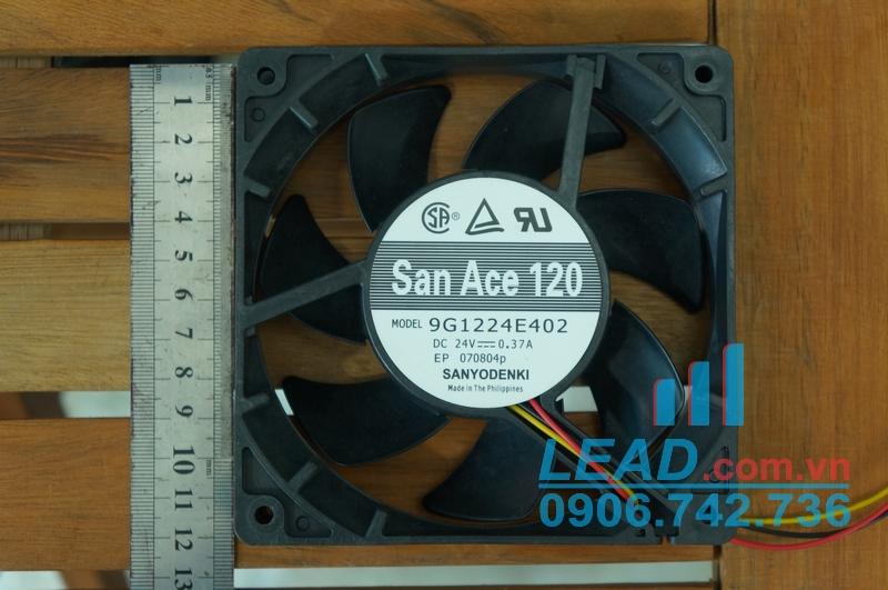 Quạt hút SANYO DENKI 9G1224E402 24VDC, 120x120x25mm