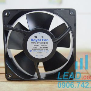 Quạt ROYAL FAN UT125C[B40], 200VAC, 120x120x38mm