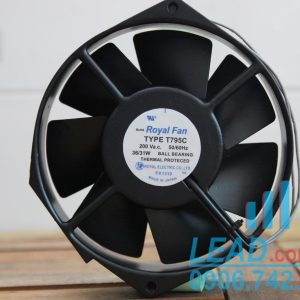 Quạt ROYAL FAN T795C, 200VAC, 172x150x38mm