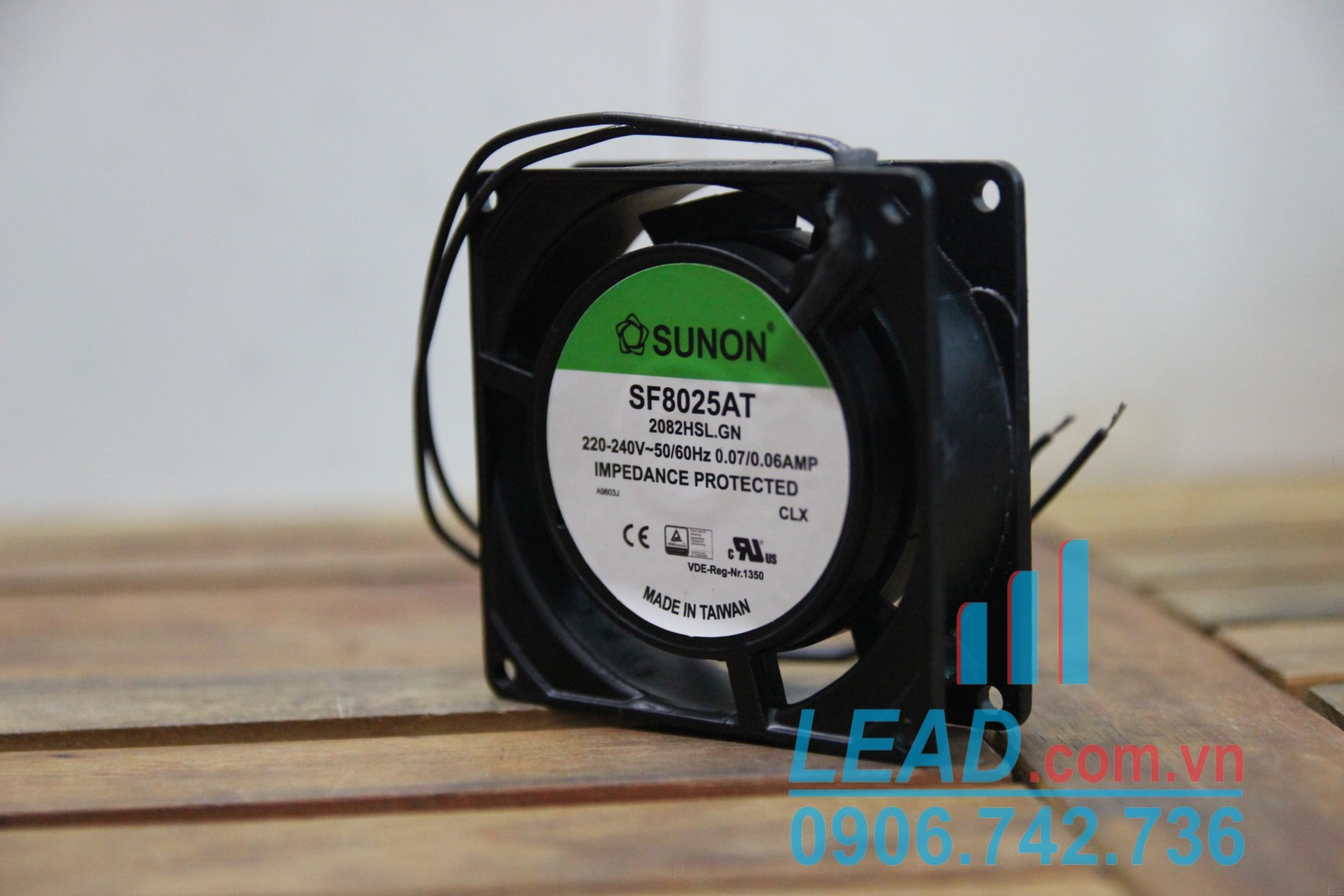 Quạt SUNON SF8025AT 2082HSL.GN, 220/240V, 80x80x25mm