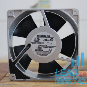 Quạt IKURA FAN UP12D10, 100VAC, 120x120x38mm