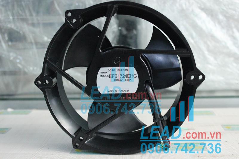 Quạt hút DELTA EFB1724EHG, 24VDC, 170x170x50mm