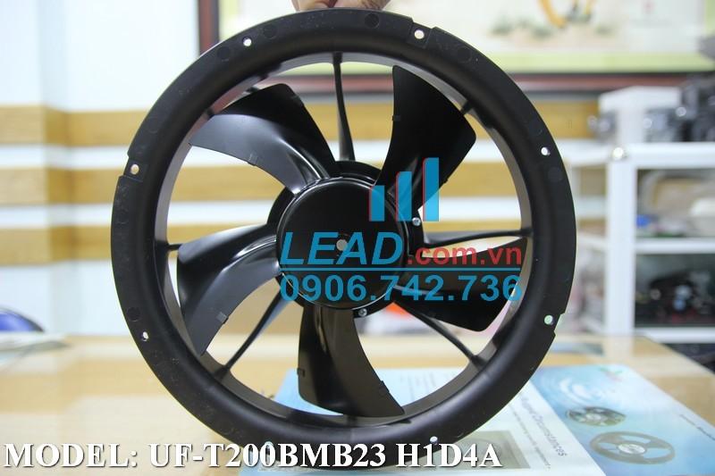 Quạt hút FULLTECH UF-T200BMB23 H1D4A, 230VAC, 250x76mm